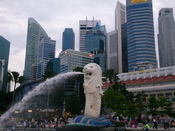 Carnets de voyage : Singapour et l'Indonésie 1/2