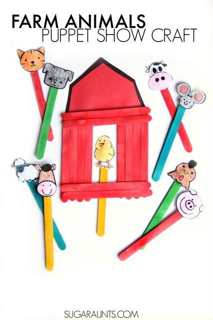 farm barn clip art. Big Red Barn Book Activity With A Craft And Farm Animal Puppets. Preschool ( Clip Art L