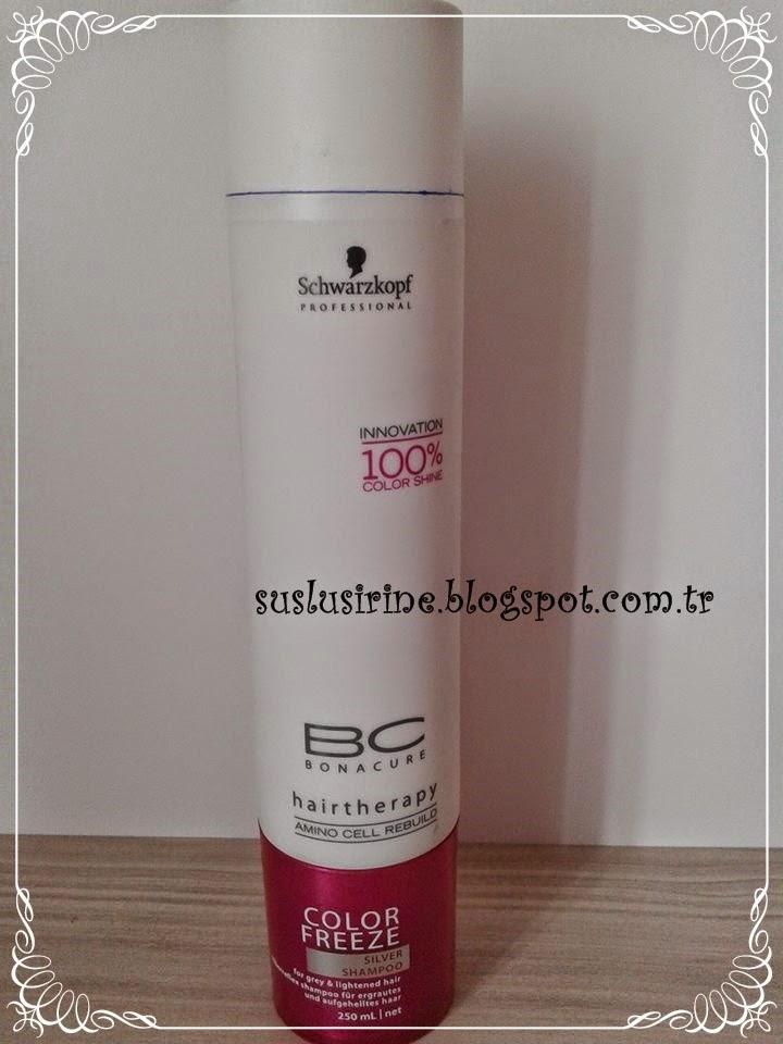 Schwarzkopf bonacure silver reflex shampoo