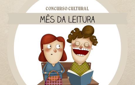 """Concurso Cultural """"Mês da Leitura"""""""