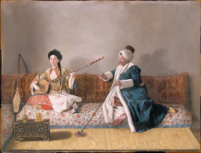 It's About Time: Fashion! - Jean-Etienne Liotard 1702-1789