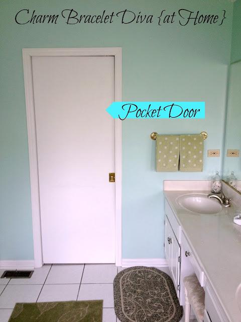 Our hopeful home master bath simple and serene summer decor for Summer bathroom decor