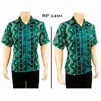 Kemeja Batik Semi Sutera BP 5491
