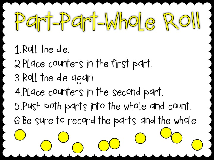 Part Part Whole Worksheets First Grade