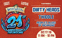 SweetWater 21st anniversary goes down on 2/17!