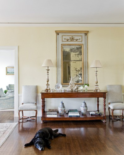 Morrone interiors what to do with that large empty wall for Blank wall ideas