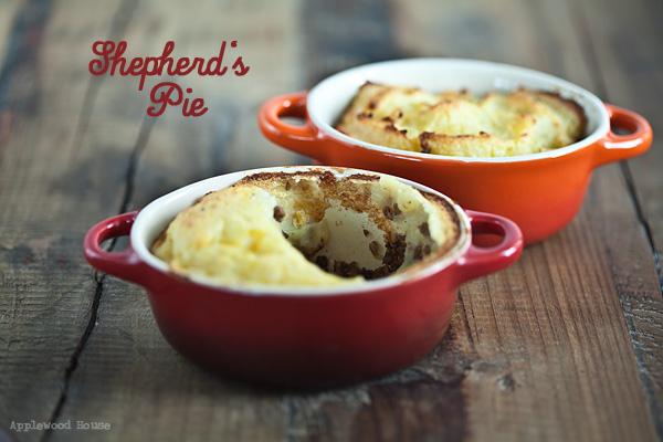 Shepherd's Pie Kartoffeln Hackfleisch Möhren