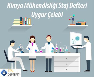 Kimya Mühendisliği Staj Defteri - Uygur Çelebi