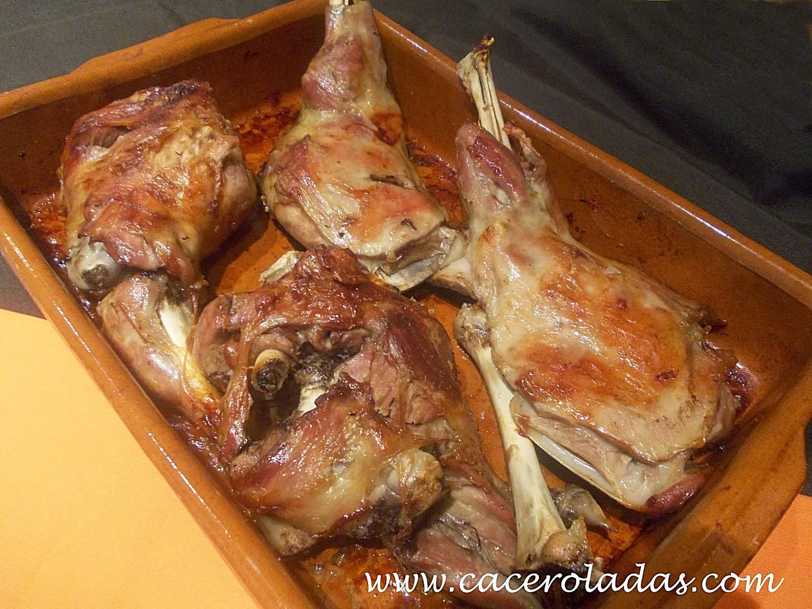 Cordero lechal al horno caceroladas for Cocinar paletilla de cordero