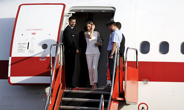 Queen Letizia Visited El Salvador