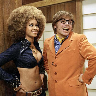 Beyonce and Mike in Goldmember