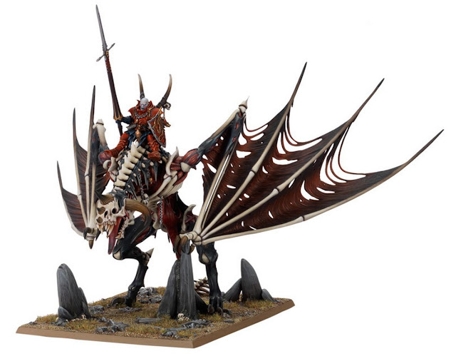 Vampire Zombie Dragon miniature
