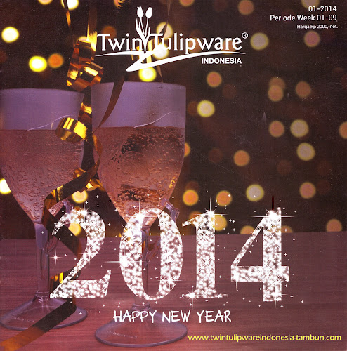 Booklet - Katalog Twin Tulipware Januari - Februari 2014