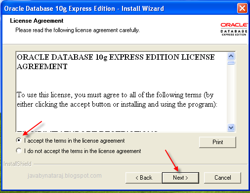 Installing Oracle Database 10g Express Edition_004