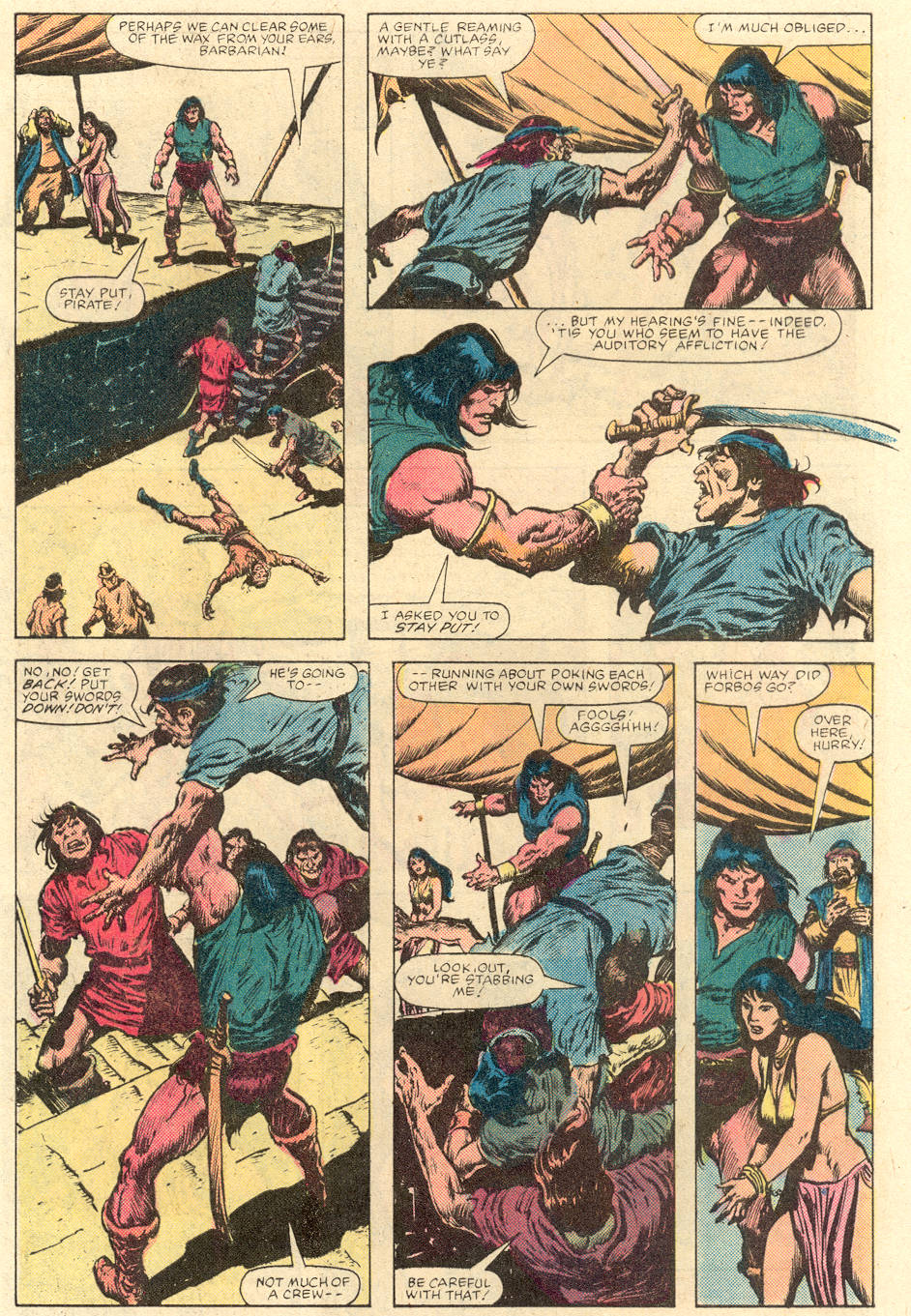 Conan the Barbarian (1970) Issue #142 #154 - English 7