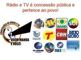 Concessões de Rádio e TV - Quem manda é você!
