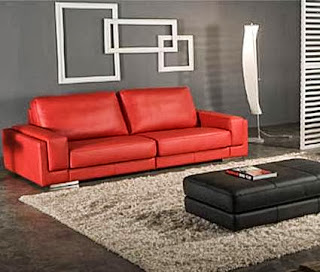 Cleaning leather sofas