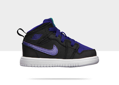 Air Jordan 1 Mid Flex (2c-10c) Toddler Girls' Shoe 554727-015