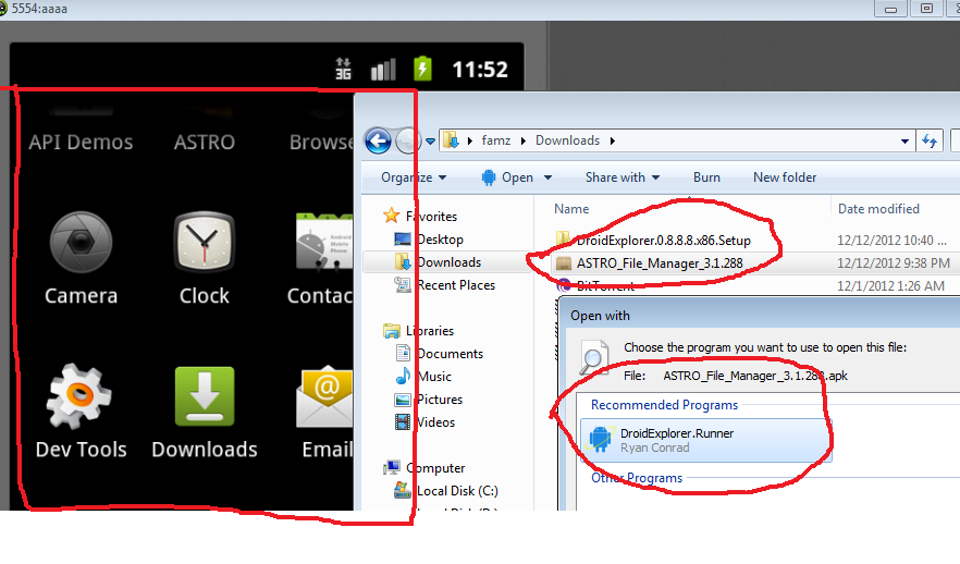 How To Open Apk Files Run Android Apps On Your Windows