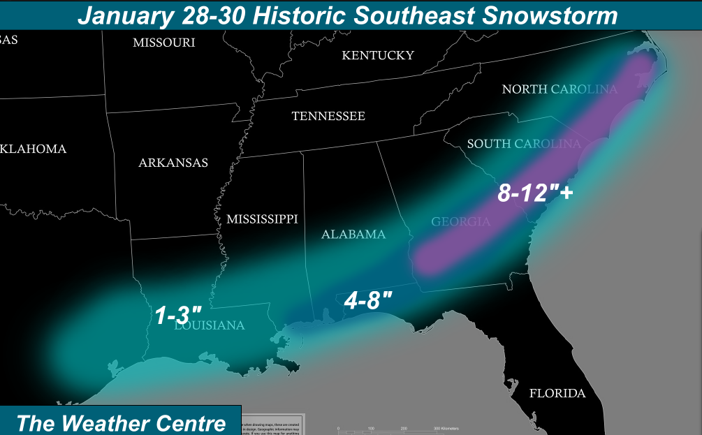Weather Prediction For Jan Feb In Ga 2014