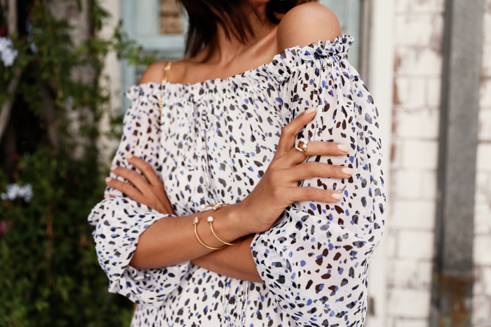 VIVALUXURY x MEJURI White Velvet ring