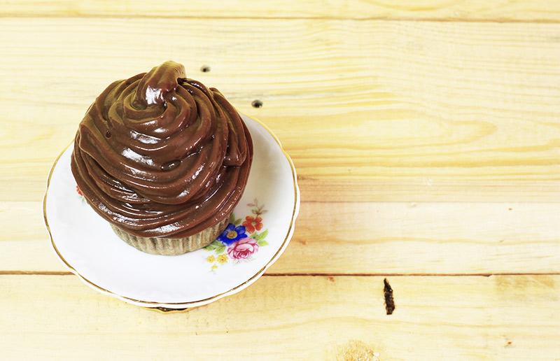 Bolo de chocolate rápido, sem batedeira