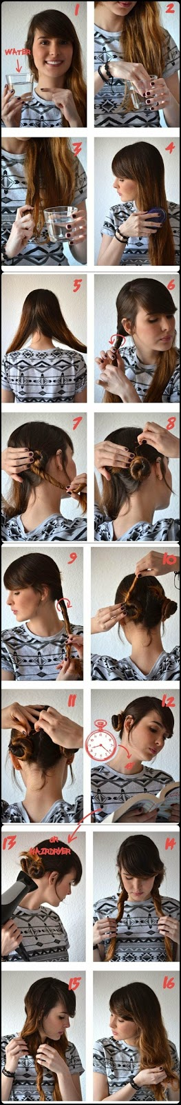 how to make youre hair beavh wavy