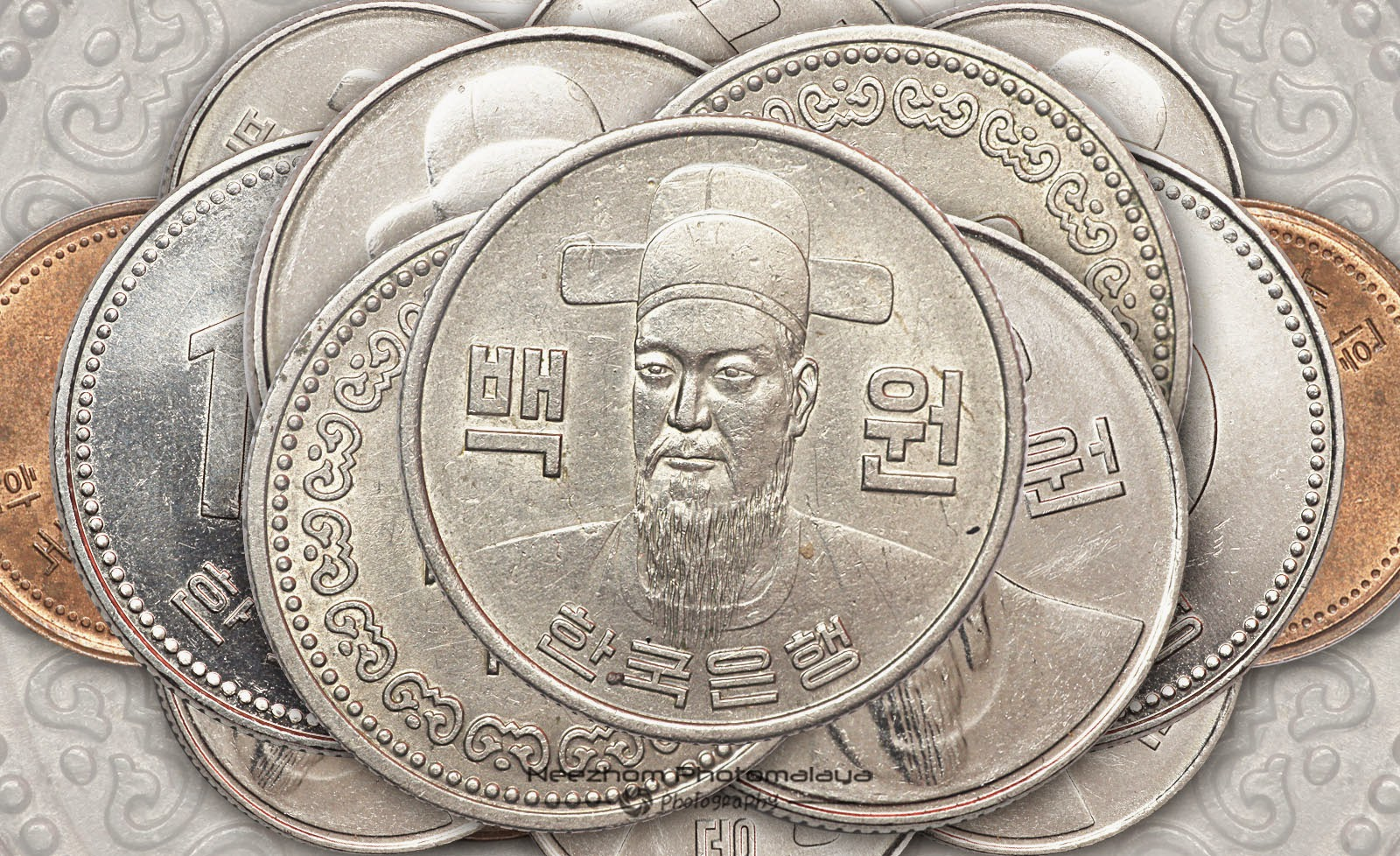 South Korea coins collection