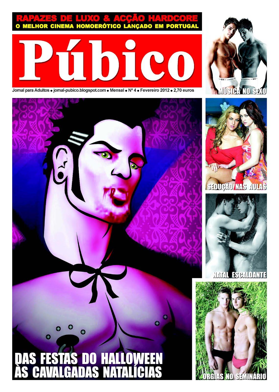 Editei e Dirigi o jornal «PÚBICO» em parceria com a Colorpress, do qual fui o principal Redactor
