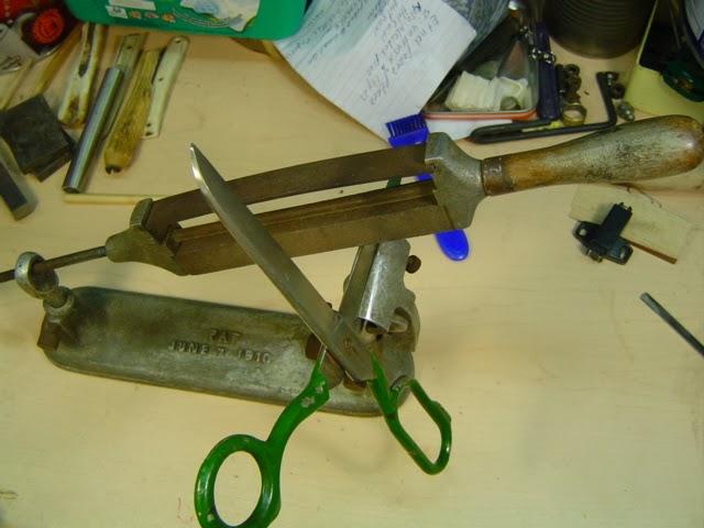 Точилка для ножа своими руками размеры 58