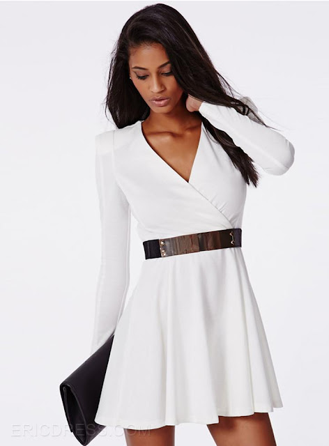 http://www.ericdress.com/product/Ericdress-Chic-White-Deep-V-Neck-Little-Party-Dress-11275723.html