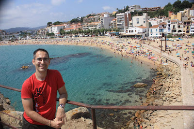 S'Abanell beach in La Costa Brava