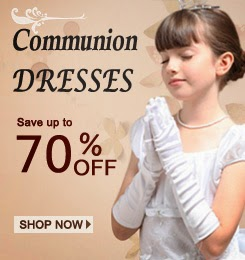 lovely girls-first communion dresses