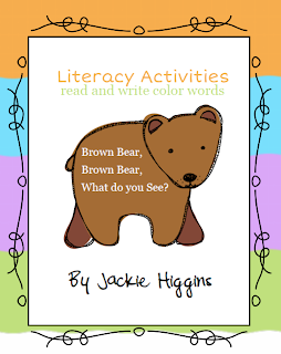 Brown Bear Brown Bear Activities, Bill Martin Jr.