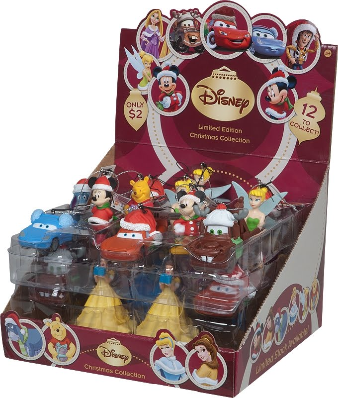 also available at coles are our new disney christmas decoration figurines cars winne the pooh toy story and more - Disney Christmas Gifts