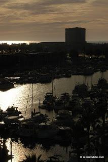 marina del rey sunset