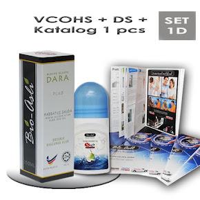 Kod: SET-1D (Harga: RM67 + PERCUMA POS)