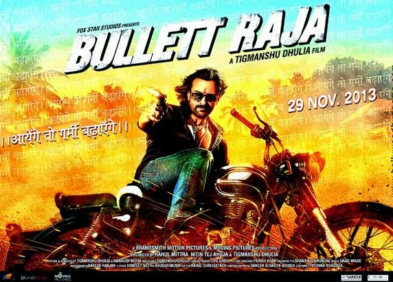 Bullet Raja Poster