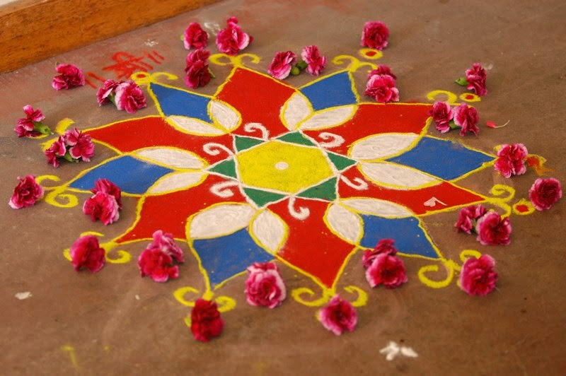 diwali rangoli ideas latest 2013 deepavali rangoli