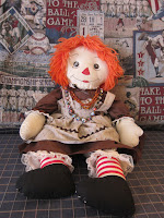 Raggedy Ann ~ The Real American Girl !  Must Have Leggings by Kirsten
