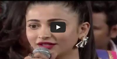 Sruthi Haasan Speech | Srimanthudu Audio Launch | Mahesh Babu | Devi Sri Prasad
