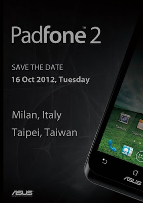 PadFone 2 event