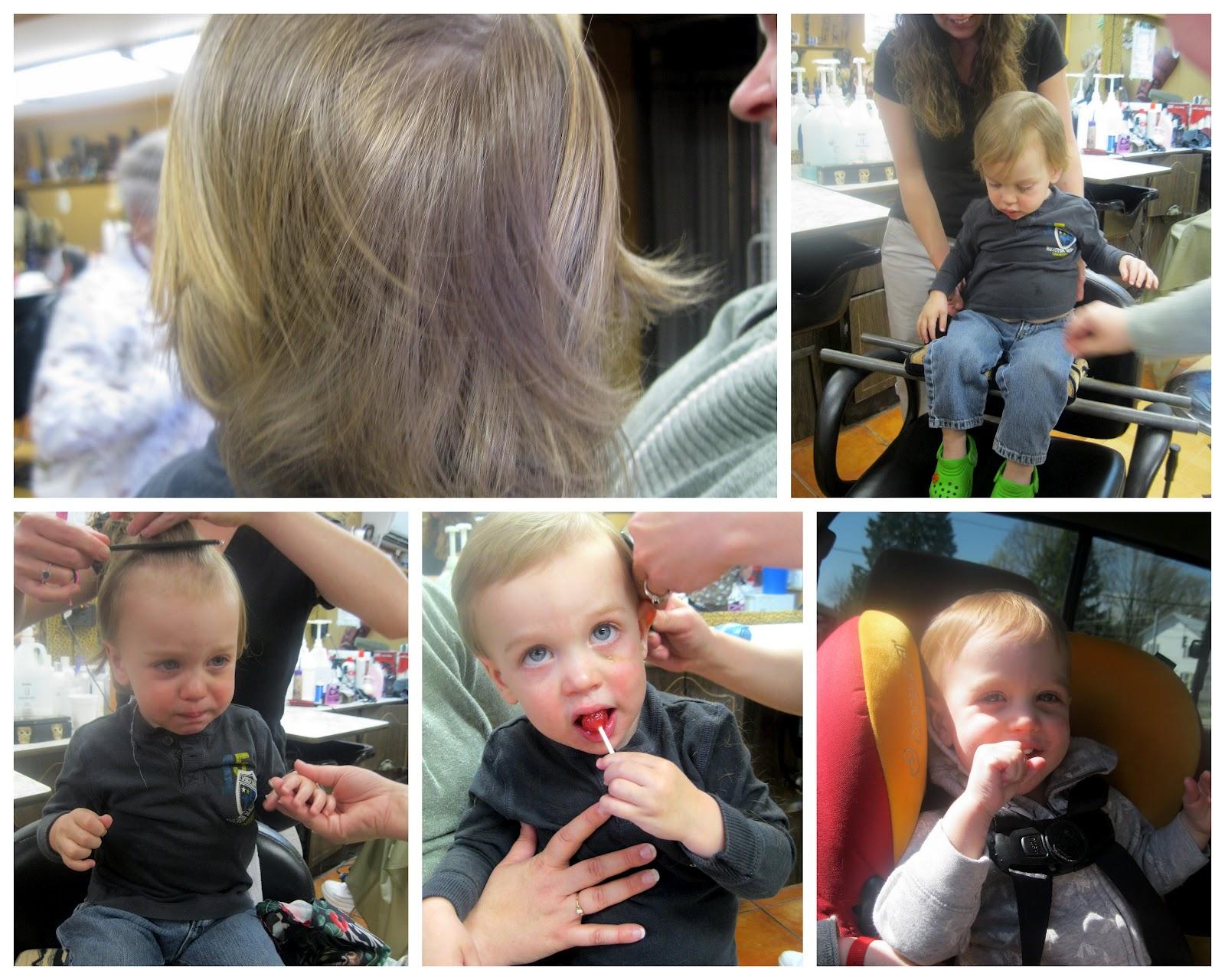 Adirondack Baker Babys First Haircut