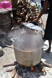Feijoada e bode não pode faltar no casamento tradicional em santiago Cabo Verde
