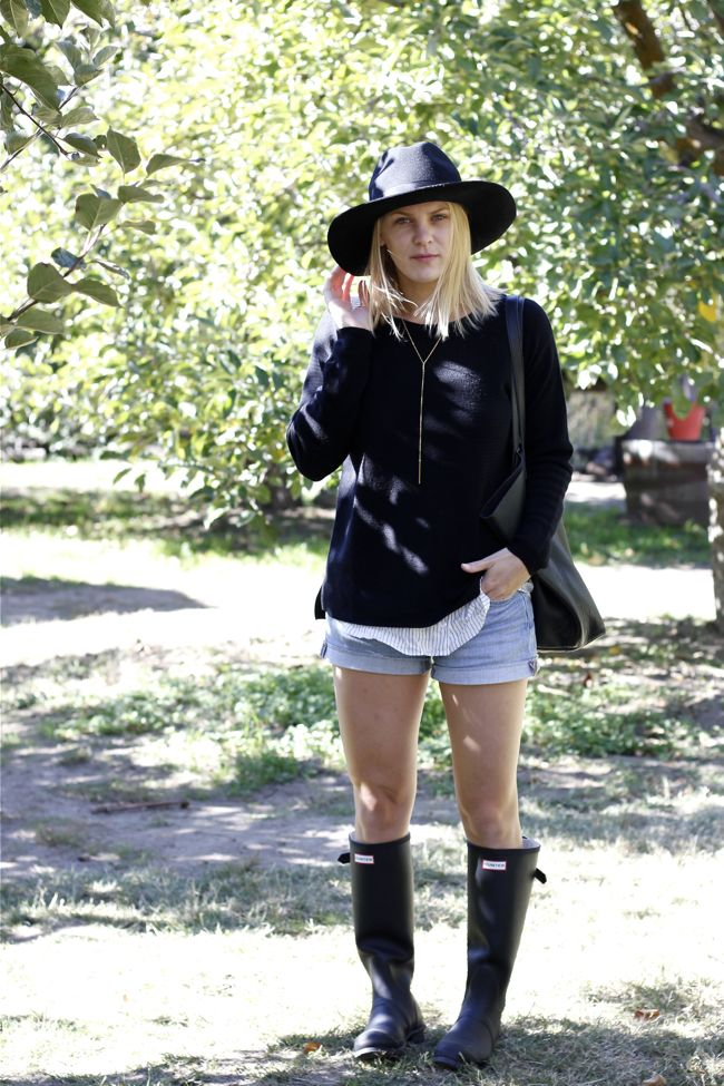 Shae Roderick, style blog, look, Parlor Hat, Apple Picking