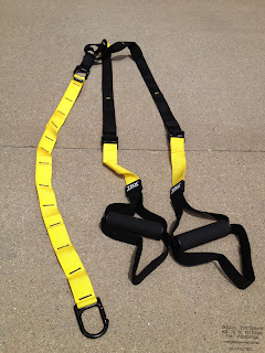 TRX Training Straps - Behold the sexiness.