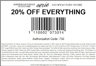 American Eagle Printable Coupons 2014