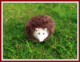 Tinsel hedgehog