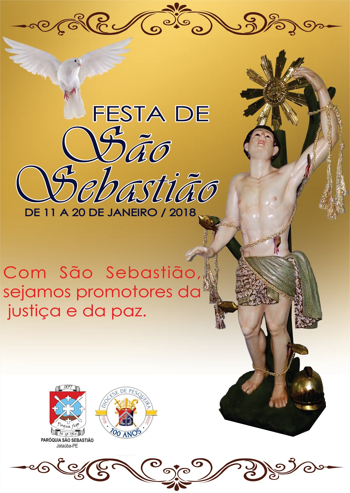 PROGRAMAÇÃO: FESTA DE SÃO SEBASTIÃO 2018