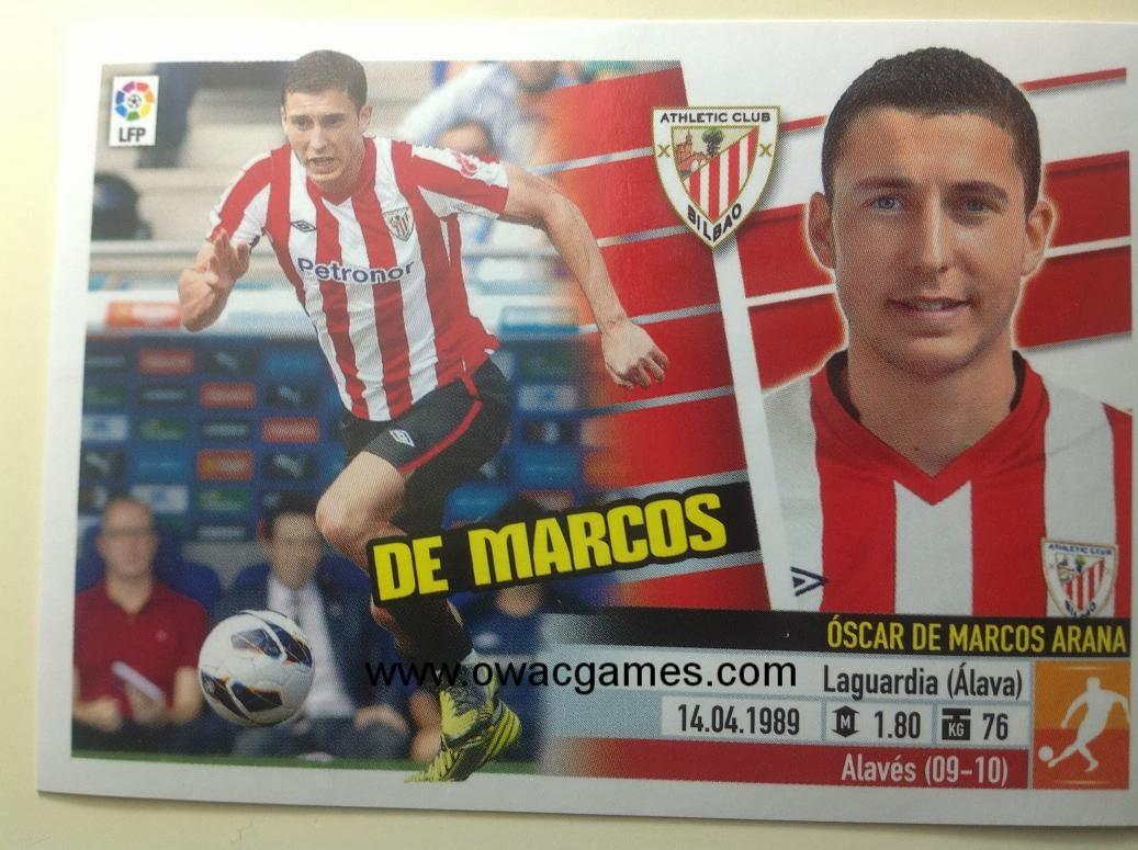 Liga ESTE 2013-14 Ath. Bilbao - 8 - De Marcos